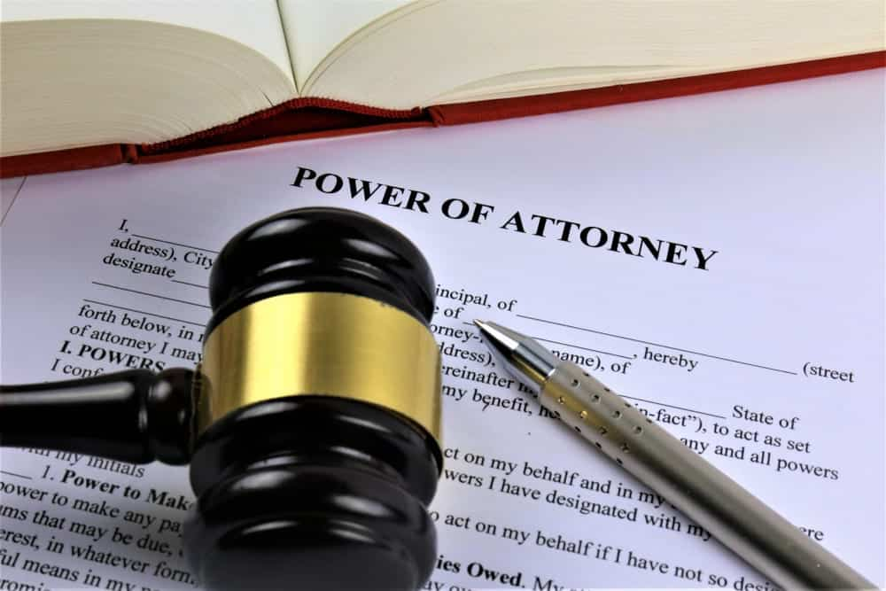 filing a power of attorney