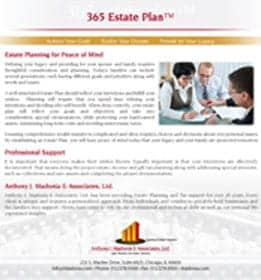 365 estate plan
