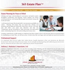 365 estate plan