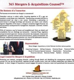 365 mergers and acquisitions counsel