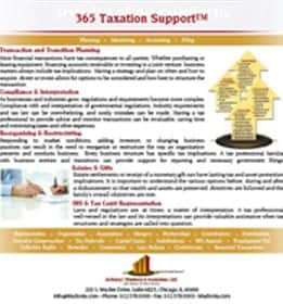 365 taxation support